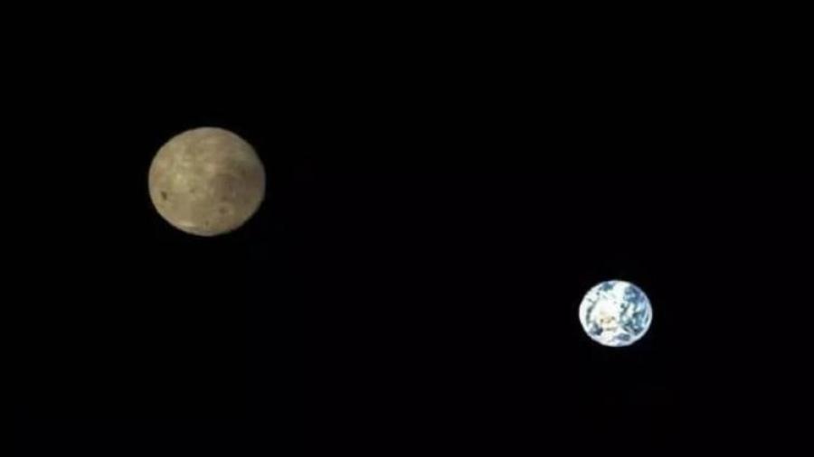 Sorprendentes imágenes de la Tierra y la Luna tomadas por satélite