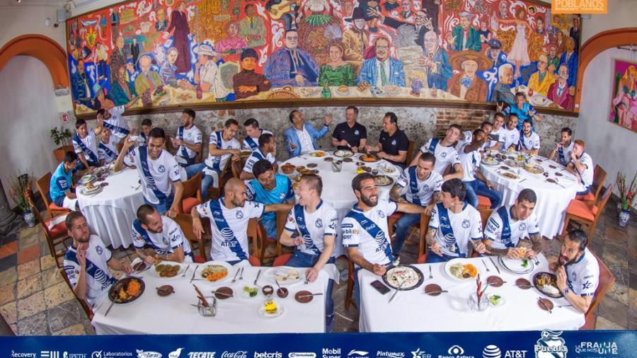 La increíble foto oficial del Puebla para el CL 2019