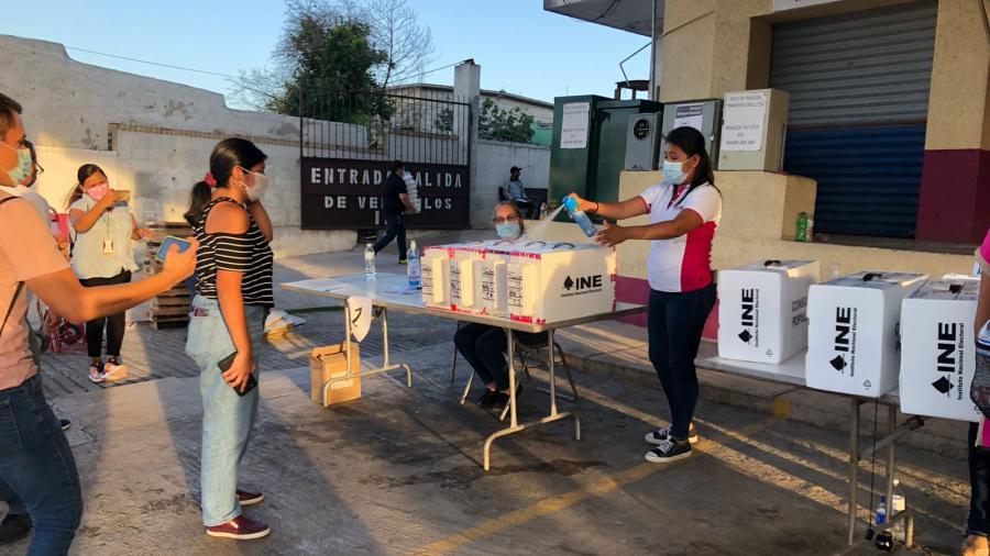 Participan en Nuevo Laredo 16 mil 271 electores en  la Consulta Popular 2021