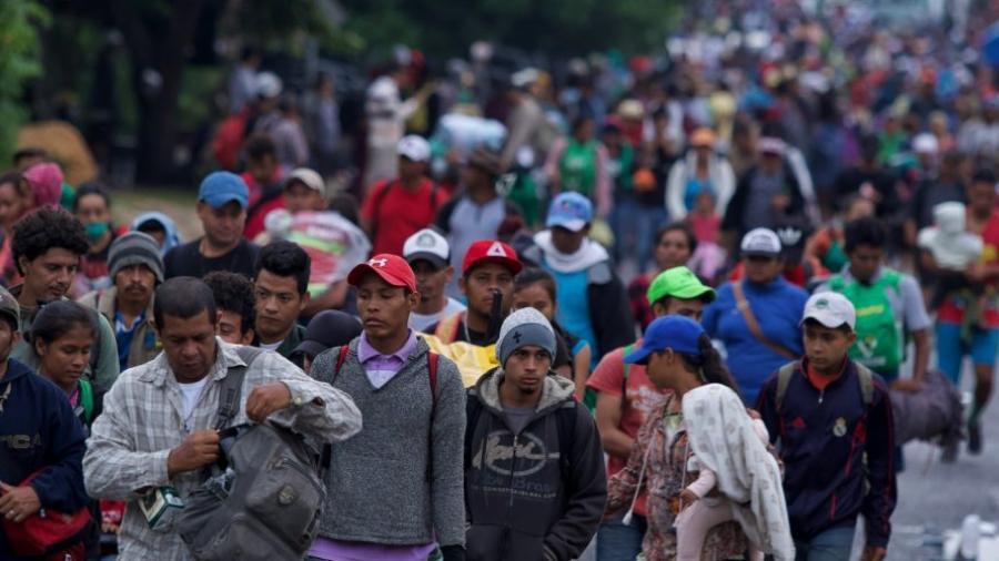 Se forma nueva caravana migrante