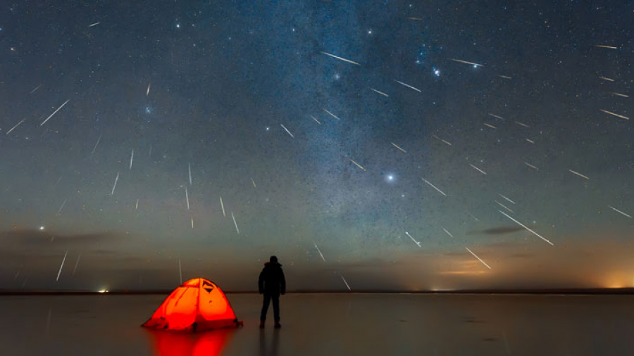 Continuará la lluvia de meteoritos visible en todo el mundo