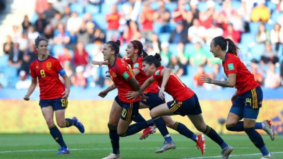 España vence 3-1 a Sudáfrica en Mundial Femenil Francia 2019