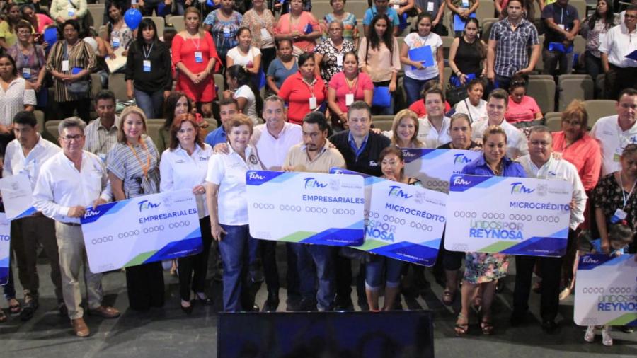 Tamaulipas entrega más de 2 millones a empresarios