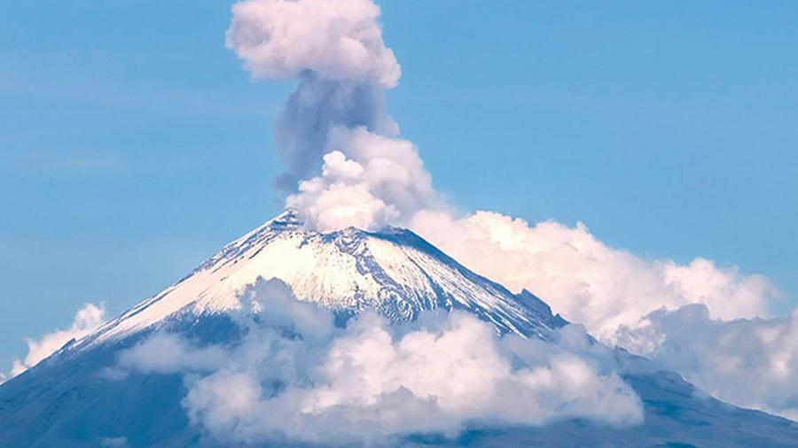 Registra Popocatépetl 159 exhalaciones en las últimas 24 horas