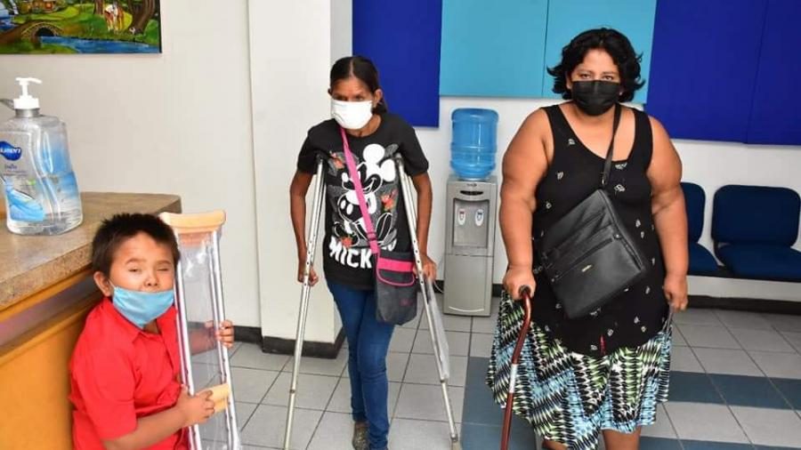 DIF Reynosa en apoyo permanente a las personas con discapacidad