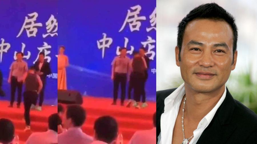 Simon Yam es apuñalado en evento