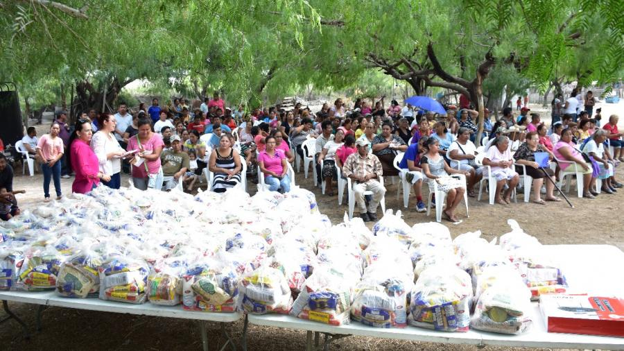 Entrega DIF Reynosa apoyos alimentarios