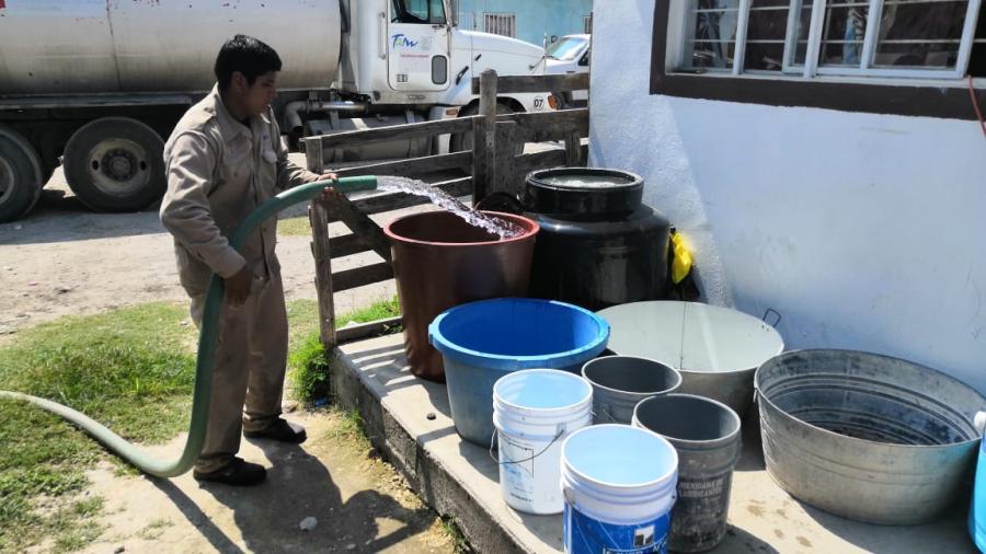 Nueve mil acciones de abasto de agua potable en varios municipios de estado