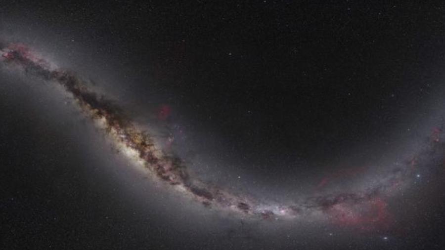Captan imagen de conjunto de galaxias elípticas