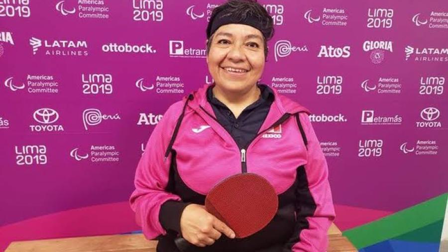 Claudia Pérez Villalba gana oro y pase paralímpico para México
