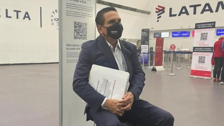 """Silvano Aureoles viaja a EU para presentar pruebas sobre supuesta """"narcoelección"""""""