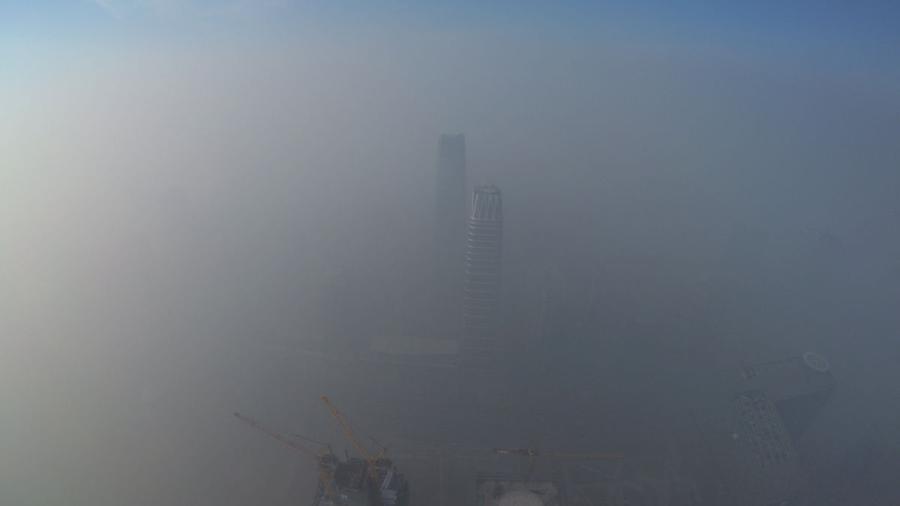 China inicia el año envuelta en nube de 'smog'
