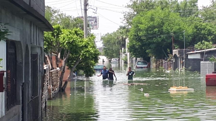 Dejan lluvias 25 mil viviendas afectadas y cuatro decesos en Reynosa