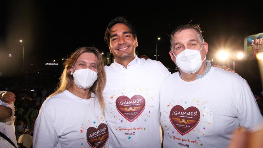 Carlos Peña Ortiz, de Morena se proyecta como virtual ganador de la alcaldía de Reynosa
