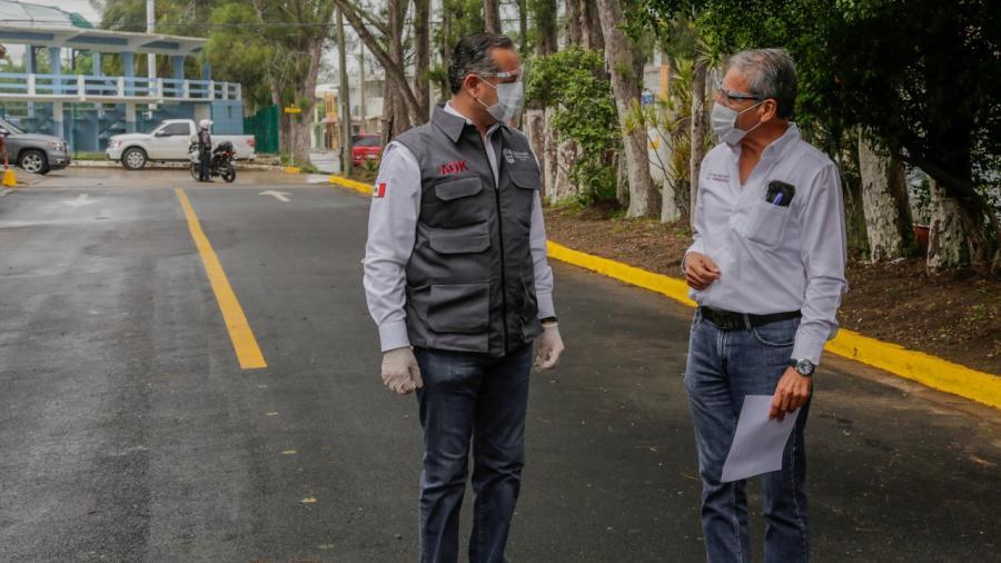 En Ciudad Madero incrementan conexión vial con obras de pavimentación y reencarpetado