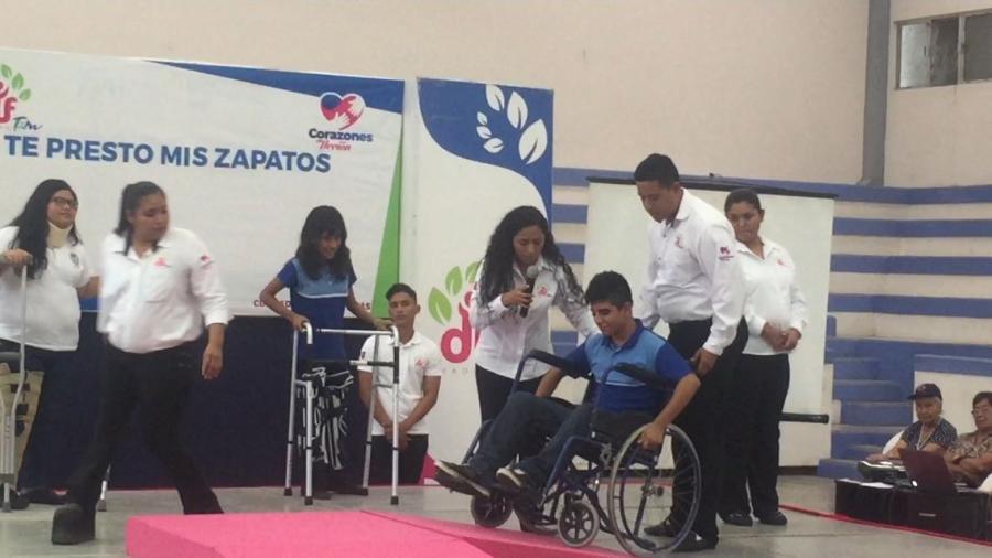 """DIF Madero puso en marcha el programa """"Te presto mis zapatos"""""""