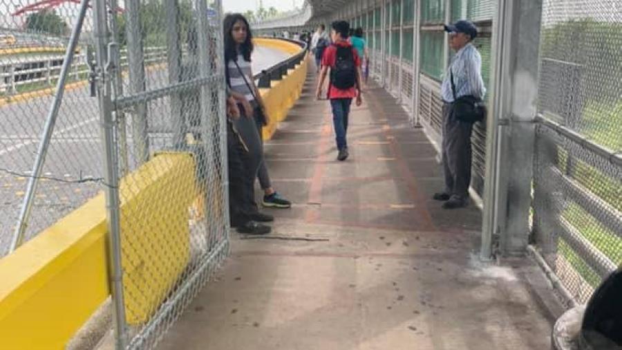 Refuerzan medidas de seguridad en los puentes internacionales