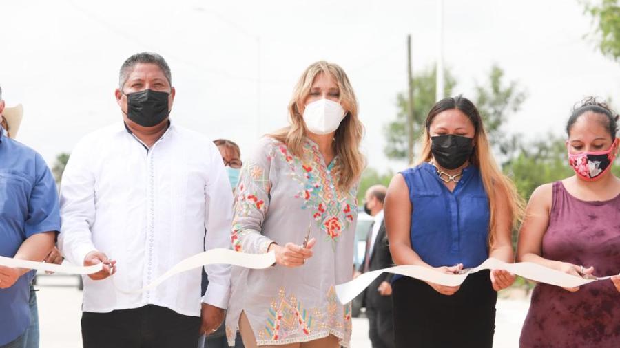 Reynosa seguirá avanzando: Maki Ortiz