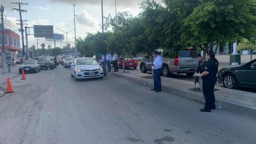 Durante el fin de semana mas de 2 mil vehículos fueron retornados al Valle de Texas