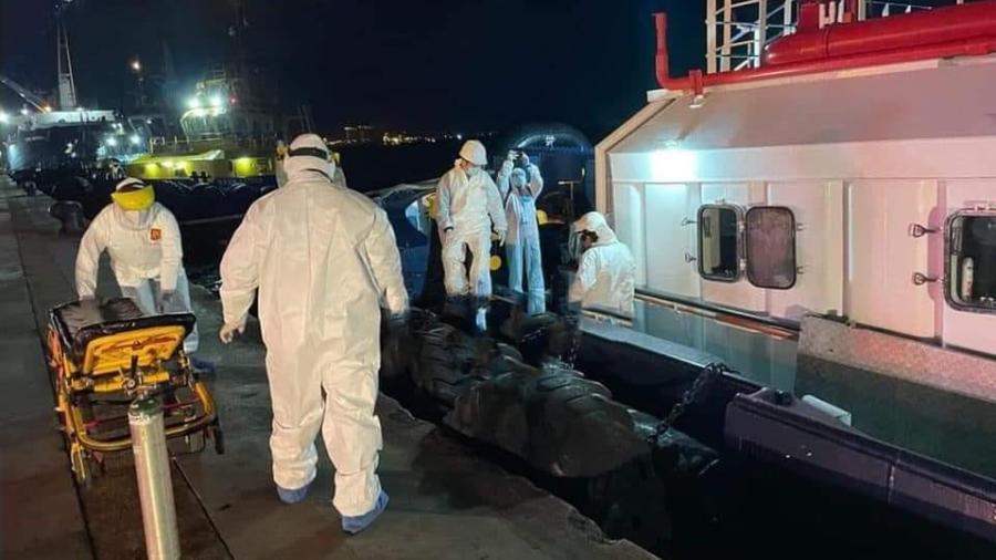 En cuarentena barco de Panamá tras su llegada al puerto de Altamira por casos de covid-19