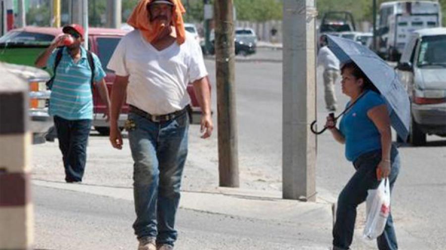Pronostican temperaturas superiores a 40 grados en Reynosa y Nuevo Laredo