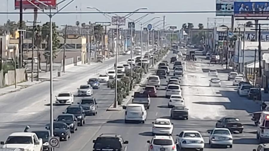 Modernizan la calle Sexta de Matamoros; será de ocho carriles