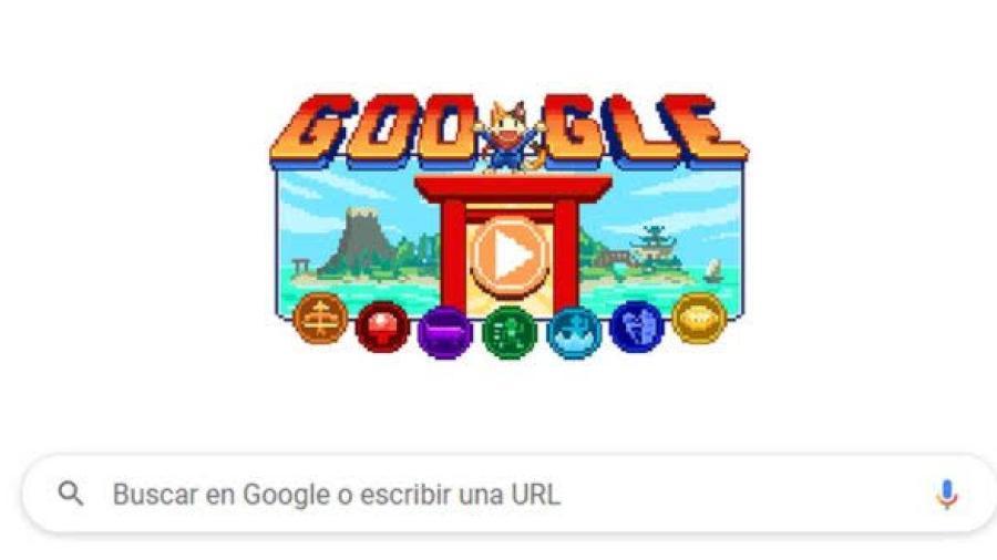 Google presenta sus nuevos doodles por los Juegos Olímpicos