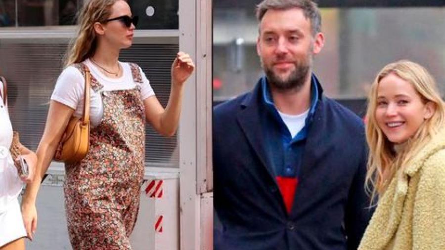 Jennifer Lawrence espera a su primer hijo
