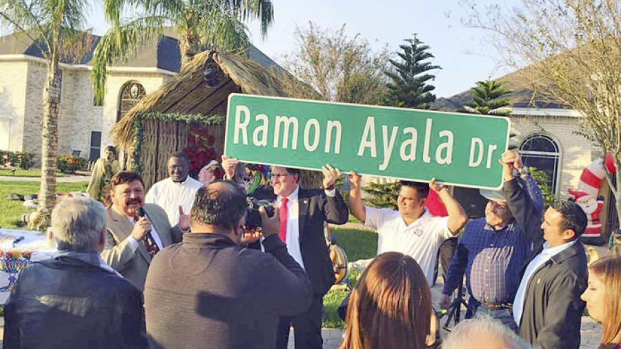 Cambian nombre a calle principal de Hidalgo, se llama ahora Ramón Ayala Dr