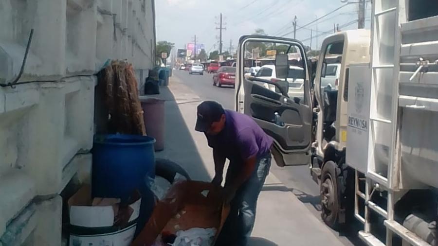 Este miércoles los camiones recolectores atienden el Sector Poniente