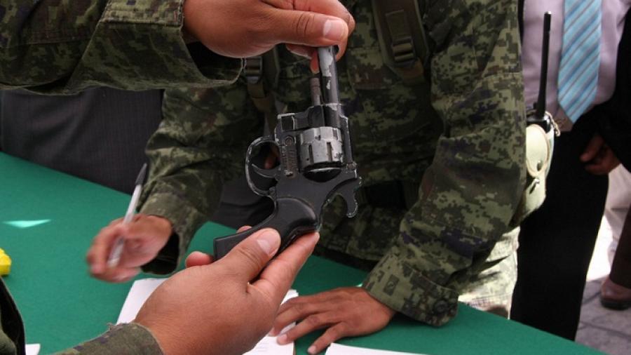 Inicia campaña de desarme voluntario
