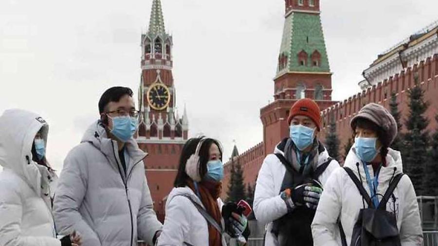 Suma Rusia 387.623 contagios por coronavirus