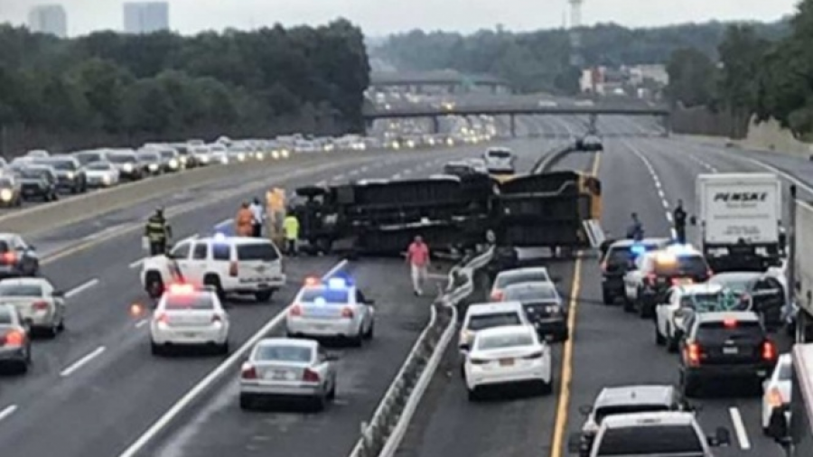 36 heridos tras accidente tras accidente de autobús escolar