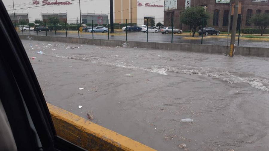Cierra Tránsito circulación en Fuente de Diana y bulevar Hidalgo
