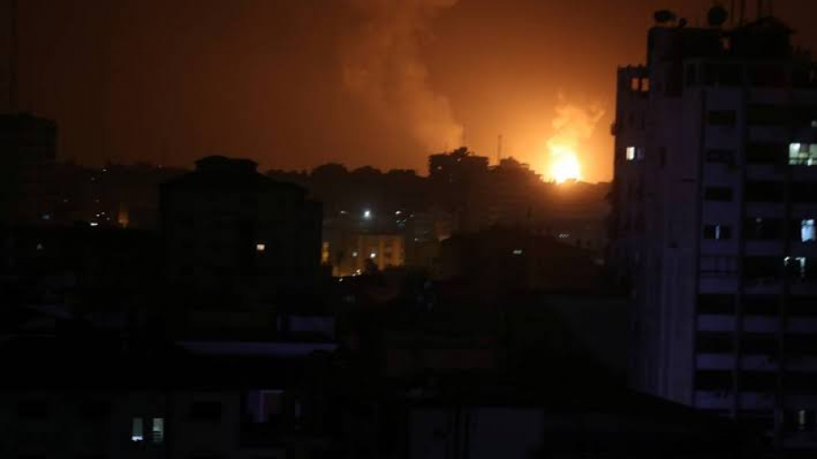 Israel ataca 15 objetivos en Gaza en represalia por disparo de cohetes
