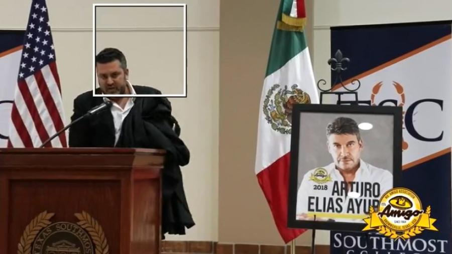 Arturo Elías Ayub es nombrado Mr. Amigo 2018