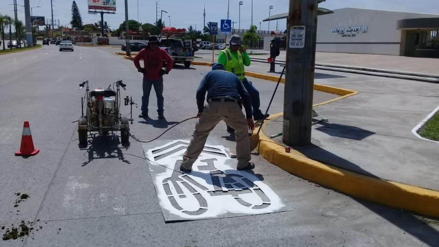 Brindarán mayor seguridad a ciclistas en Ciudad Madero