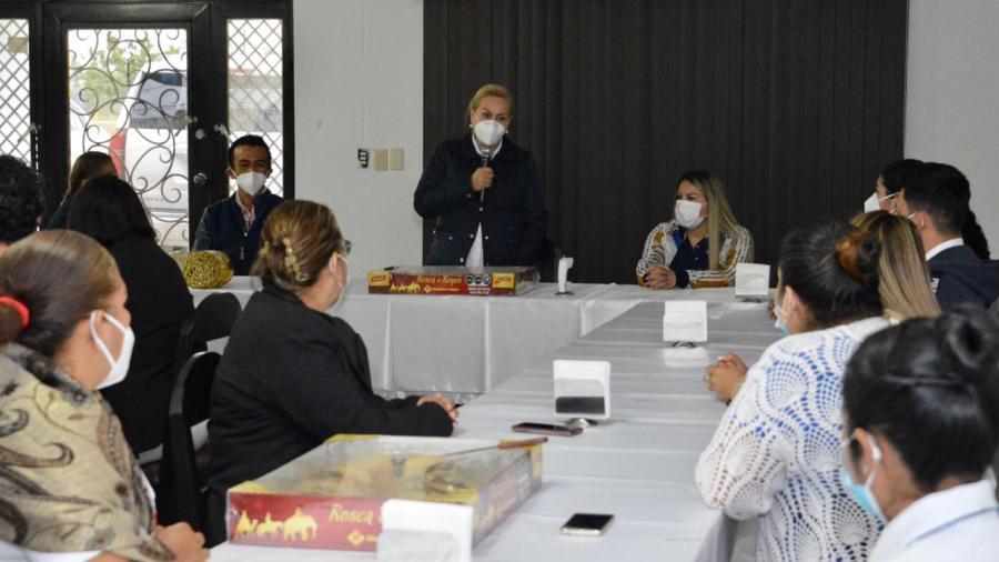 Destaca Gobierno de Alma Laura Amparán trabajo de enfermeras del DIF Altamira