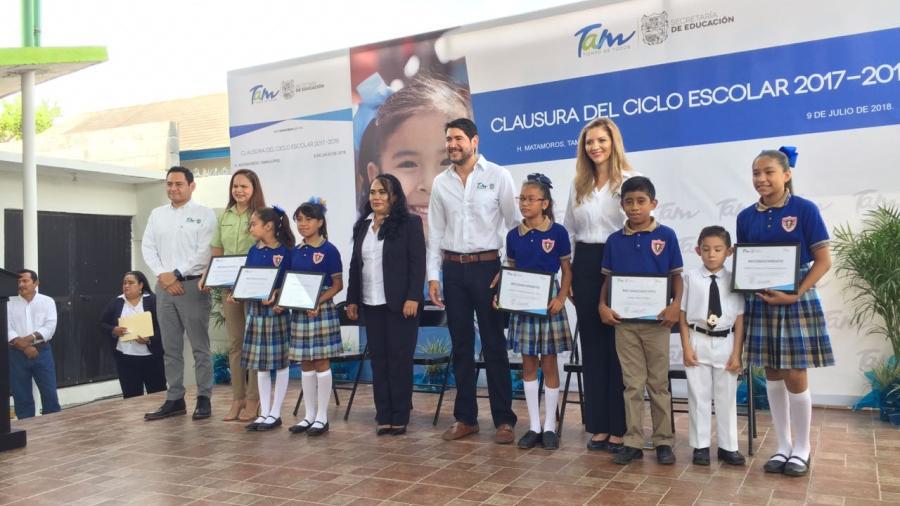 Más de 40 mil alumnos participarán en escuelas tamaulipecas