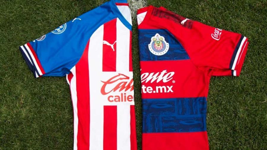 Chivas presenta sus nuevos uniformes