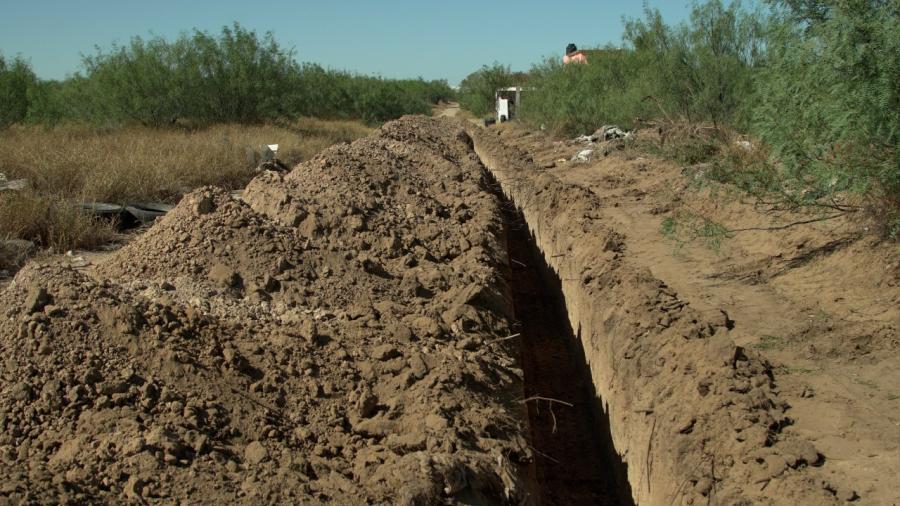 Dan continuidad a red de agua en beneficio de 200 habitantes en colonia de Nuevo Laredo