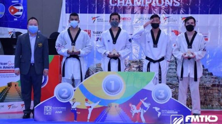 Destaca participación de mexicanos en los panamericanos de Taekwondo