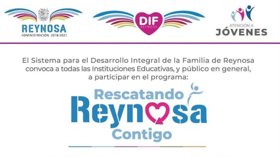 """Realizará DIF Reynosa primer curso de capacitación para proyecto """"Rescatando Reynosa Contigo"""""""