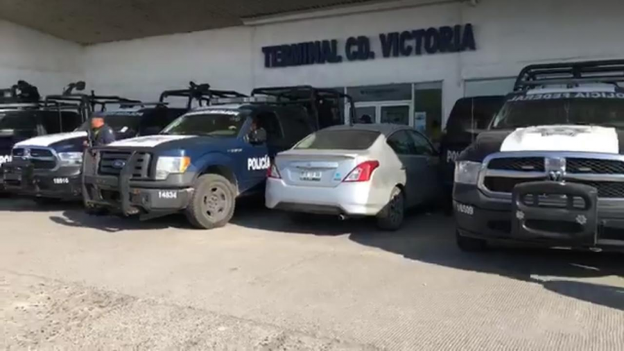 Retiene Policía Federal a migrantes en Victoria