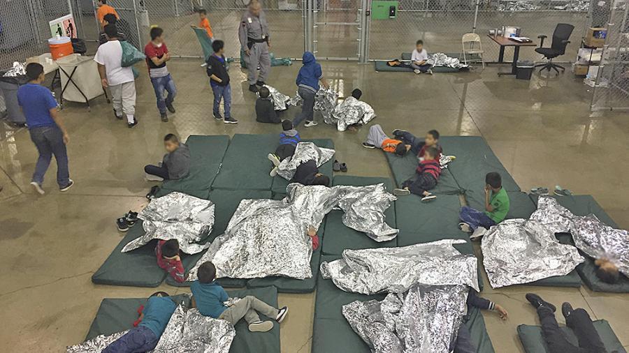 Cierran centro de migrantes en McAllen por brote de gripe