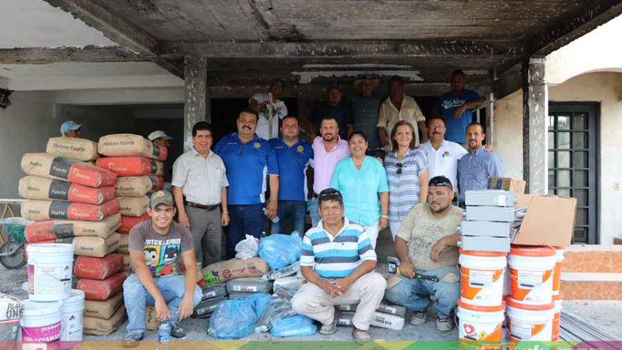 Ayuntamiento apoya a vecinos afectados