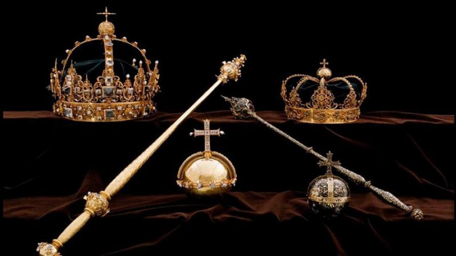 Acusan a hombre de robar joyas de realeza sueca