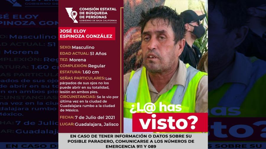 Desaparece padre que viajaba rumbo a la CDMX para protestar por desaparición de su hijo