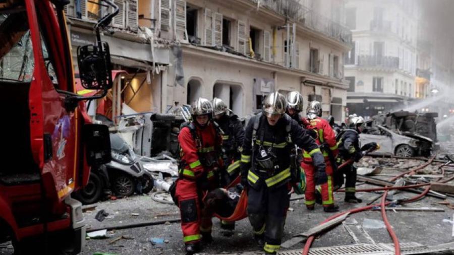 Al menos tres muertos, tras una explosión en una panadería en París