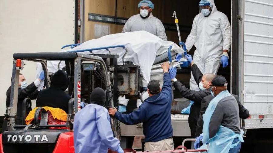España rebasa los 8 mil muertos por coronavirus